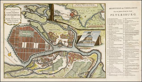 75-Russia Map By Johann Matthias Hase / Johannes Broedelet