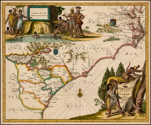 96-Southeast Map By John Ogilby