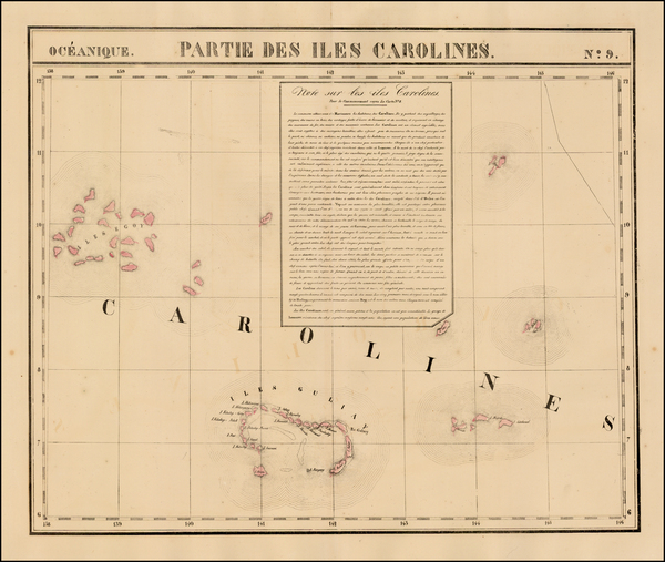 86-Oceania and Other Pacific Islands Map By Philippe Marie Vandermaelen