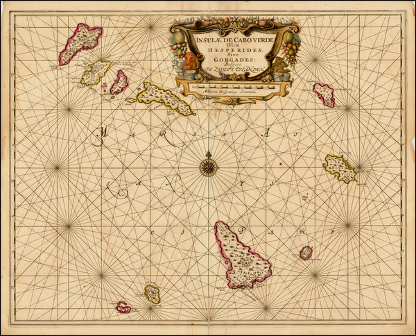 34-African Islands, including Madagascar Map By Jan Jansson