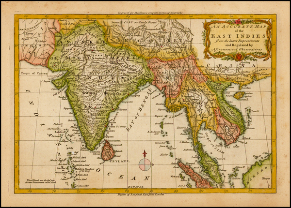 99-India and Southeast Asia Map By Christopher T. Middleton