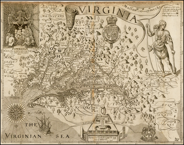 22-Mid-Atlantic, South and Southeast Map By John Smith