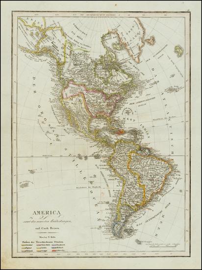 91-South America and America Map By Tranquillo Mollo