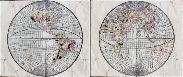 World and World Map By Anonymous
