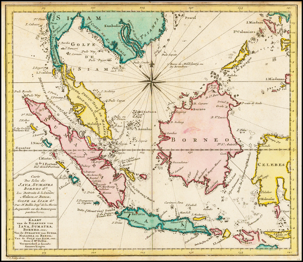 51-Southeast Asia Map By J.V. Schley