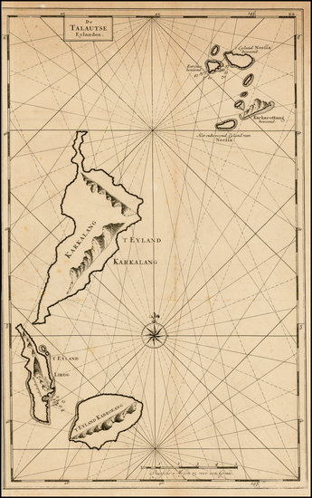 66-Indonesia and Other Islands Map By Francois Valentijn