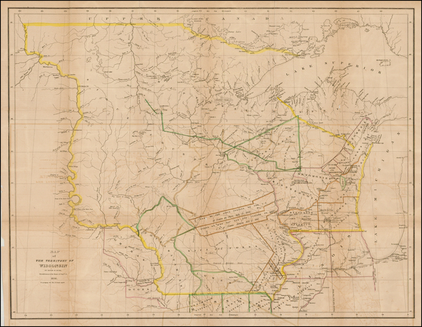 67-Midwest Map By David Hugh Burr