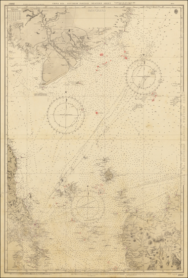 61-Singapore and Malaysia Map By British Admiralty