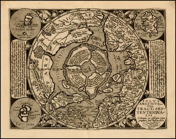 21-Northern Hemisphere and Polar Maps Map By Matthias Quad