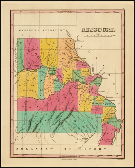 80-Midwest, Plains and Missouri Map By Anthony Finley