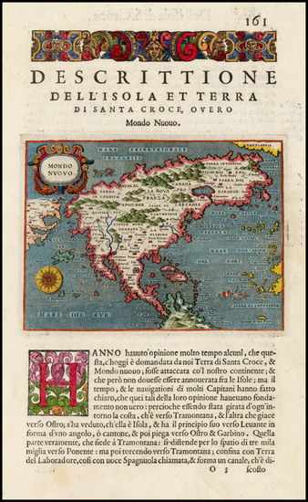 45-North America, Japan and Pacific Map By Tomasso Porcacchi