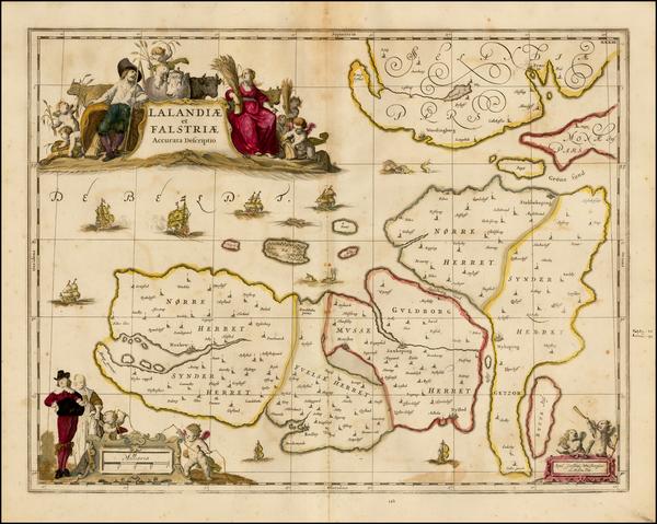 77-Denmark Map By Moses Pitt