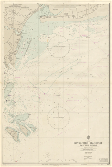 91-Southeast Asia and Singapore Map By British Admiralty