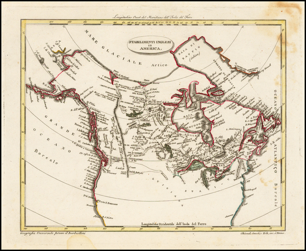 87-Polar Maps and Canada Map By Carlo A. Barbienelli