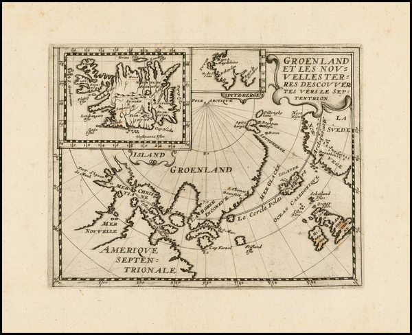 51-Polar Maps, Canada and Scandinavia Map By Philip Briet