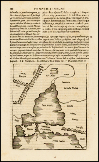 74-Turkey and Turkey & Asia Minor Map By Caius Julius Solinus