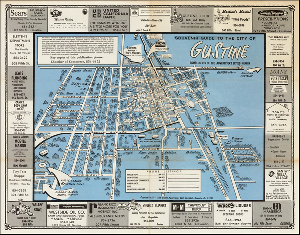70-Pictorial Maps and California Map By Ken Givens