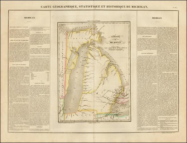 64-Midwest Map By Jean Alexandre Buchon