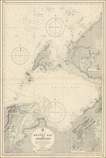 Southeast Asia and Indonesia Map By British Admiralty