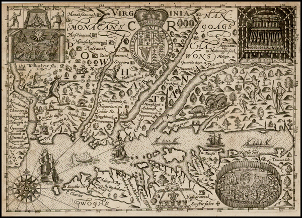 78-Mid-Atlantic and Southeast Map By Ralph Hall