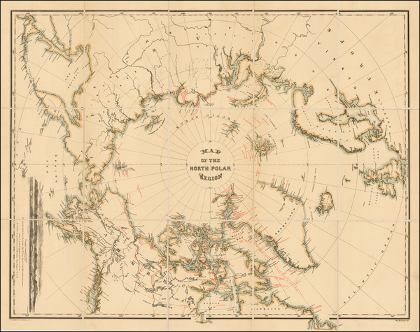 94-Polar Maps, Alaska, Canada, Russia and Scandinavia Map By William Bauman / The Graphic Co.