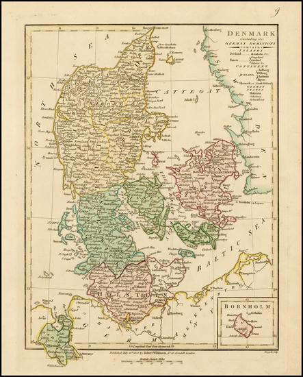 72-Scandinavia Map By Robert Wilkinson