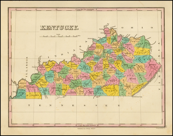 90-South and Kentucky Map By Anthony Finley