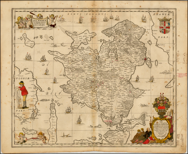 26-Scandinavia and Denmark Map By Moses Pitt