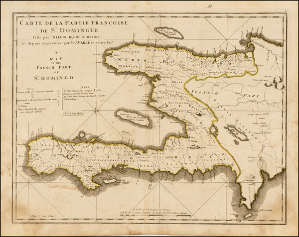 29-Caribbean and Hispaniola Map By Mathew Carey
