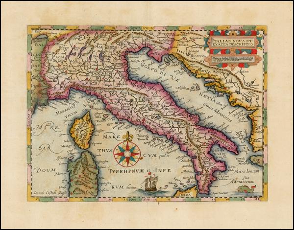 42-Italy Map By David Custodis