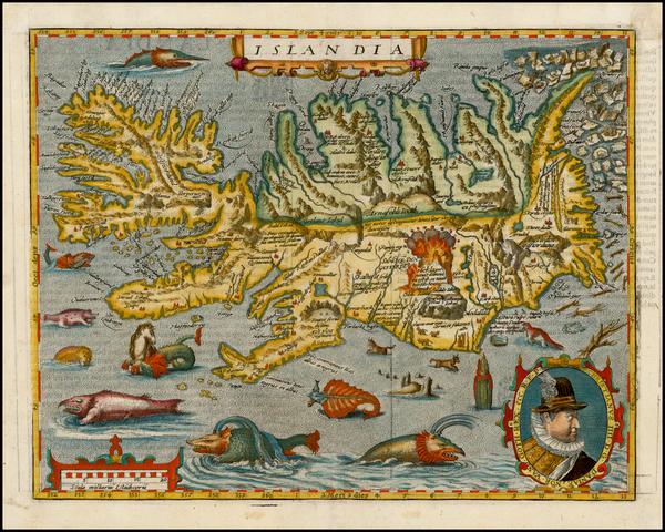 70-Iceland Map By Matthias Quad