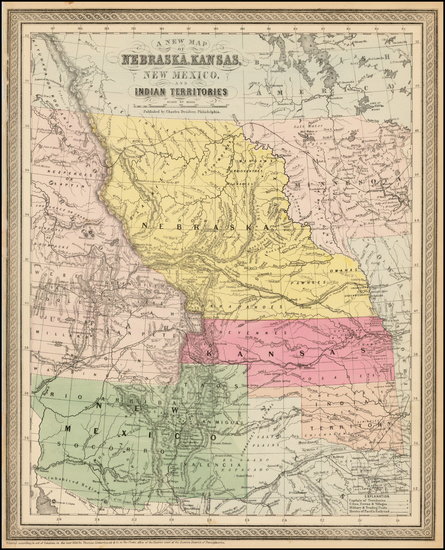 10-Midwest, Plains, Nebraska, Southwest and Rocky Mountains Map By Charles Desilver