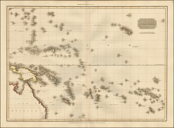 1-Australia, Oceania and Other Pacific Islands Map By John Pinkerton