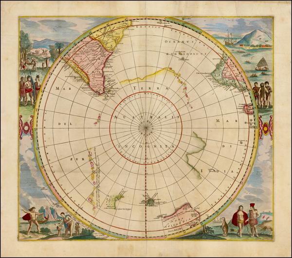 30-Polar Maps and Australia Map By Jan Jansson