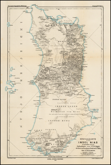 Southeast Asia Map By Augustus Herman Petermann