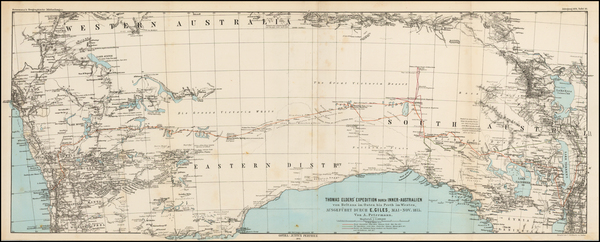 10-Australia Map By Augustus Herman Petermann