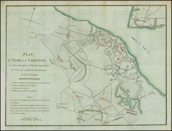 23-Virginia Map By Henri Soules