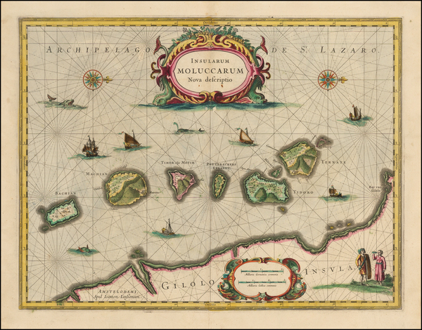 Indonesia and Other Islands Map By Jan Jansson