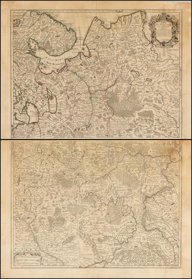 28-Russia and Ukraine Map By Joseph Nicholas de L'Isle
