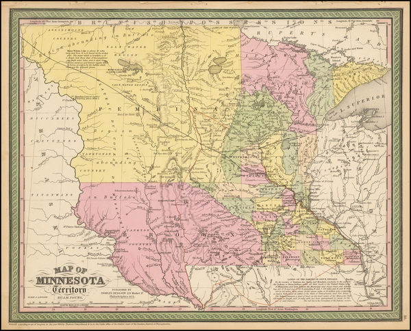 69-Midwest, Minnesota, Plains and South Dakota Map By Charles Desilver
