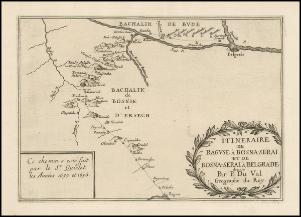 70-Balkans Map By Pierre Du Val