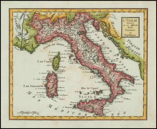 68-Italy Map By Citoyen Berthelon