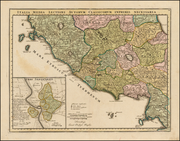 60-Southern Italy Map By Christopher Weigel