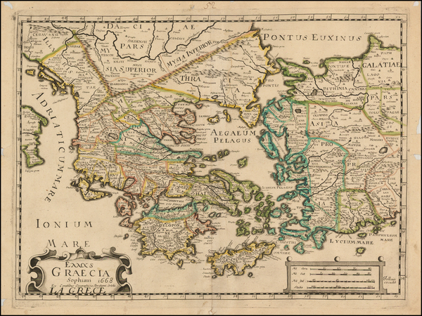 79-Greece, Turkey and Turkey & Asia Minor Map By Francois Jollain