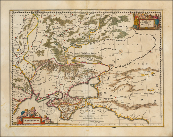 73-Russia and Ukraine Map By Moses Pitt