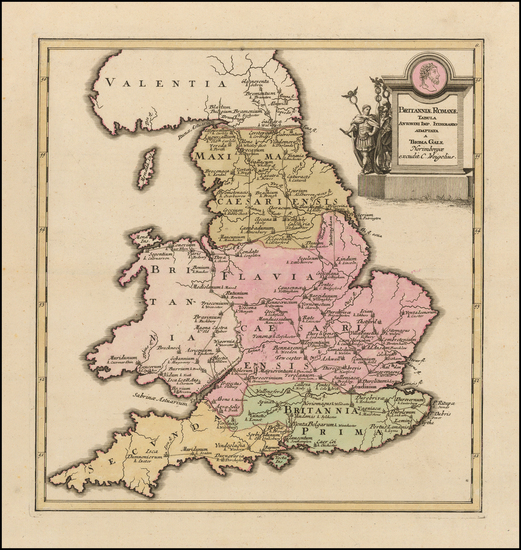 1-British Isles and England Map By Christopher Weigel