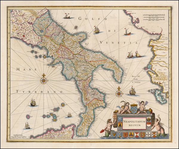 52-Italy and Southern Italy Map By Jan Jansson