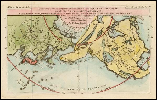 9-Polar Maps, Alaska, North America, Canada, China, Japan, Central Asia & Caucasus, Pacific,