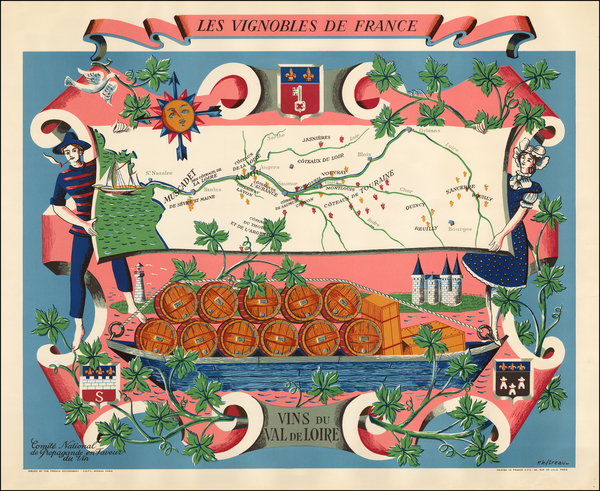 47-France and Pictorial Maps Map By Remy Hetreau