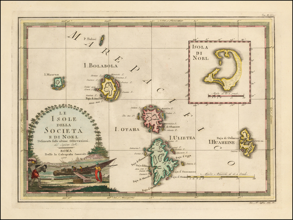 68-Other Pacific Islands Map By Giovanni Maria Cassini